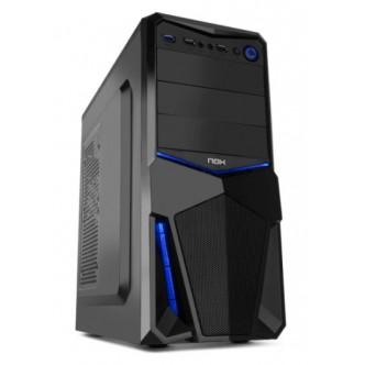 Caixa Nox Pax ATX preta/azul