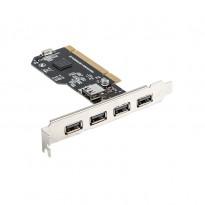 Lanberg PCI-US2-005 Placa PCI USB 2.0 5 portas